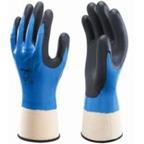 Showa  377 Fully Coated Nitrile Foam Grip Glove