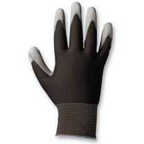 Poly Black PU Coated Glove