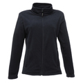 Regatta TRF565 Ladies Micro Full Zip Fleece - Navy
