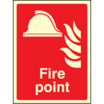 Fire Point (Rigid Plastic,400 X 300mm)
