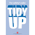 Safety Poster - Tidy Up