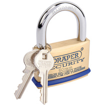 60mm Solid Brass Padlock
