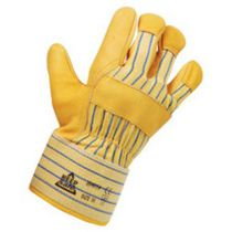 Yellow Cow Grain Rigger Gloves