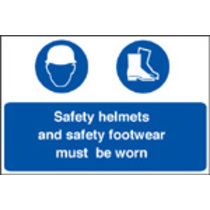 Safety Helmets/footwear Must Be Worn