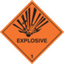 Explosive Diamond (Rigid Plastic,100 X 100mm)