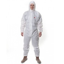 3M Economy Type 5/6 Disposable Coverall - White