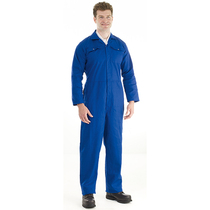 Royal Blue Polycotton Boilersuit