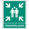 Assembly Point - Eec (Self Adhesive Vinyl,300 X 250mm) (22055H)