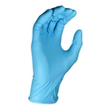 Blue Powder-Free Nitrile Disposable Gloves Box of 100