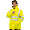 Hi-Vis 7-In-1 Multifunctional Jacket