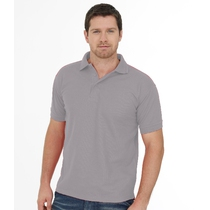 UC102 Heavyweight Polo Shirt - Heather Grey