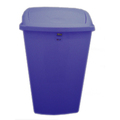 50L Swing-Top Bin Blue