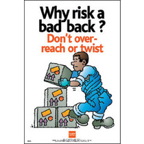 Safety Poster - Bad Back