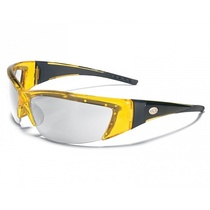 Forceflex Safety Specs Yellow Frame with Clear Lens