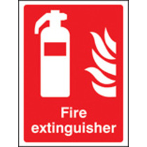 Fire Extinguisher (polycarbonate,400 X 300mm) (71013K)