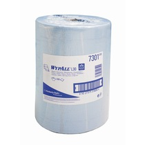 7301 Wypall L30 Extra+ Wipers Blue Large Roll 500 Sheet