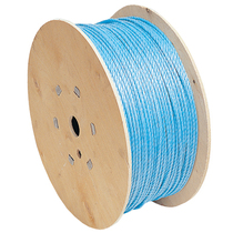 Blue Polypropylene Rope Drum
