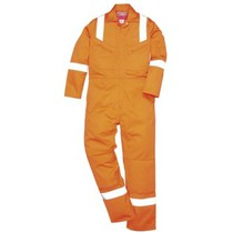 Orange Hi-Vis Flame Retardant Coverall