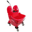 25L Combination Bucket & Wringer Red