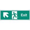 Exit Up & Left (Self Adhesive Vinyl,300 X 100mm) (22009G)