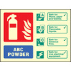 Abc Powder Ident (photo. Self Adhesive Vinyl,200 X 150mm)