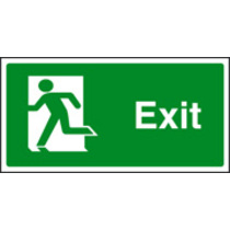 Final Exit Left (Self Adhesive Vinyl,200 X 100mm) (22057X)