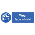 Wear Face Shield (Rigid Plastic,300 X 100mm)