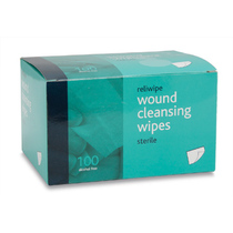 Reliwipe Saline Cleansing Wipes