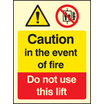 Fire - Lift (Self Adhesive Vinyl,200 X 150mm) (21213E)