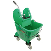 25L Combination Bucket & Wringer Green