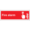Fire Alarm (Rigid Plastic,450 X 150mm)