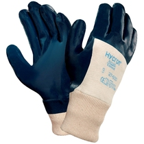 Ansell 27-600 Hycron Palm Coated Nitrile Knitwrist Glove