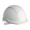 Centurion Concept Vented Reduced Peak Helmet - White