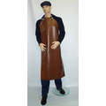 Brown PVC/Cotton Apron - 48x36