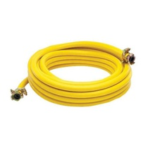 Compressor Hose c/w Brass Couplings Yellow 3/4
