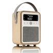 Monty Wooden Portable DAB Radio - Oak