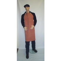 Red Rubber Apron - 42x36
