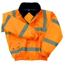 Hi-Vis Orange Bomber Jacket - 3XL