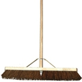 24 Inch Bassine Broom c/w 48 Inch Handle