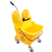 25L Combination Bucket & Wringer Yellow