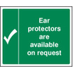 Ear Protectors Are Available On Request (Rigid Plastic,300 X 250mm)