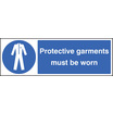 Protective Garments (Rigid Plastic,300 X 100mm)