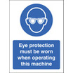 Eye Protectopn (Self Adhesive Vinyl,600 X 200mm)