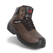 Heckel Suxxeed Offroad Water-Resistant Metal-Free Brown Safety Boot - S3 CI SRC