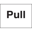 Pull (Self Adhesive Vinyl,200 X 150mm)