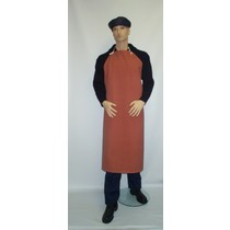 Red Rubber Apron - 48x36