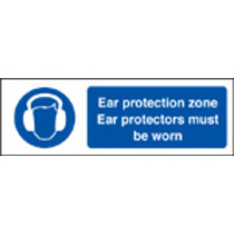 Ear Protection Zone (Self Adhesive Vinyl,300 X 100mm)