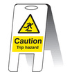 Caution Trip Hazard (free-standing)