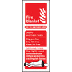 Fire Blanket Identification (Self Adhesive Vinyl,200 X 75mm) (21218S)