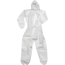 White General Disposable Coverall